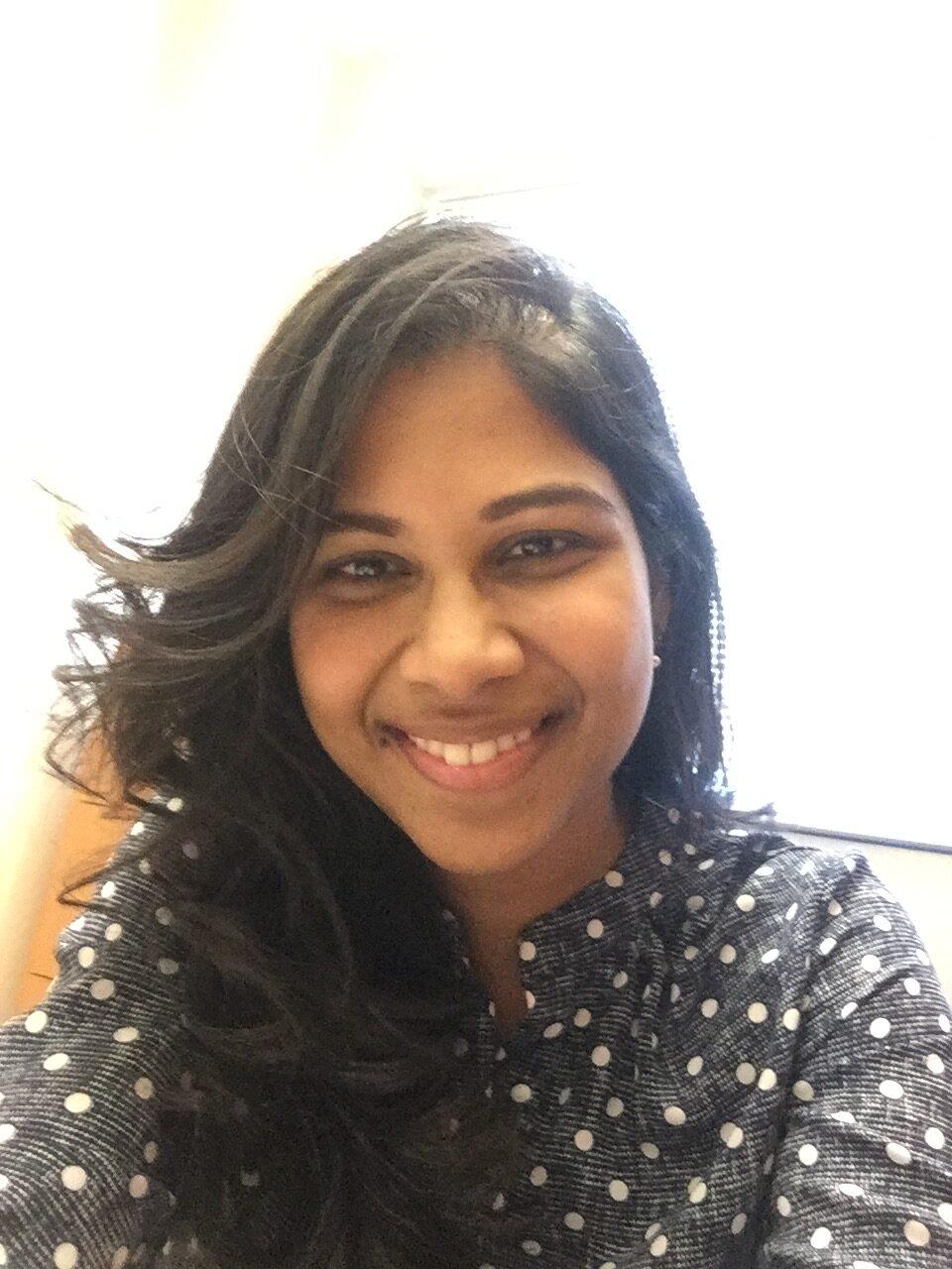 Shiny Deepika (Dee) Singapogu, MS, MA